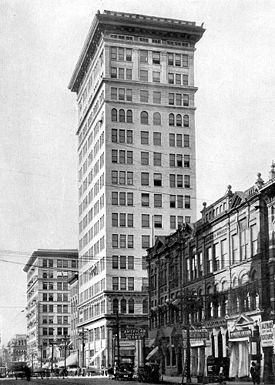 The Brown-Marx Building in downtown Birmingham housed the offices of the Tennessee Coal, Iron and Railroad Company
