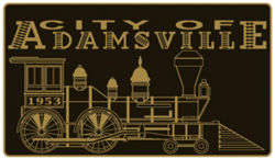 Adamsville's current logo