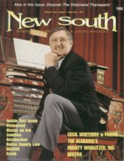 Cecil Whitmire on cover of New South Magazine
