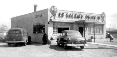 Ed Salem's Drive-In in 1951. Courtesy Birmingham Public Library