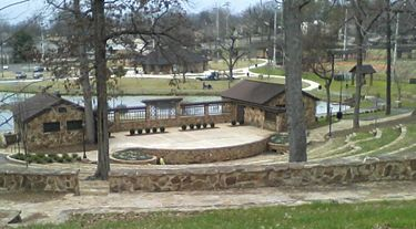 Renovated amphitheater. Picture taken February 4, 2012