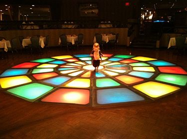 Dance floor at The Club