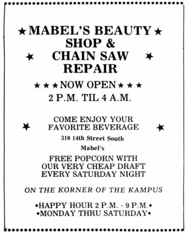 Mabel's Beauty Shop & Chainsaw Repair - Bhamwiki