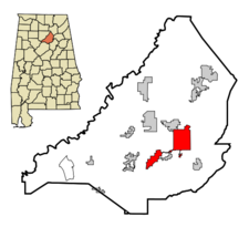 Oneonta locator map.png