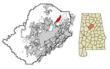 Pinson locator map.png