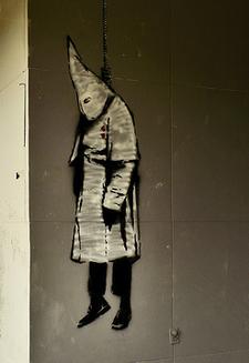 Banksy graffiti - Bhamwiki
